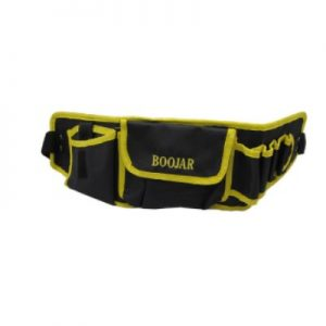 کیف کمری بوجار زرد و مشکی