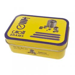 فنر هلی کویل شمس مدل SH08mm مجموعه 100 عددی